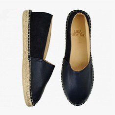 MARINO BLUE  Multi Leather  Espadrilles