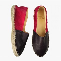 BERRY  VINE  Multi Leather  Espadrilles