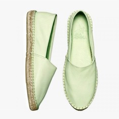 PEPPERMINT  Calf Leather  Espadrilles