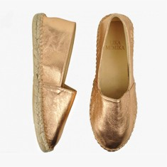 Shine  Calf Leather  Espadrilles