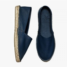 NAVY  Calf Leather  Espadrilles