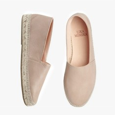 BISQUIT  Calf Leather   Espadrilles