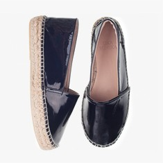 BLACK PATENT UPGRADE  Patent Leather  Espadrilles
