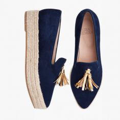 BLUE TASSLE  Plateau Loafer