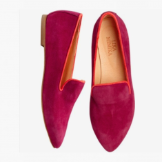 RASPBERRY  Flat Loafer