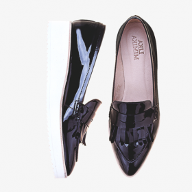 BLACK BIRD  Toe Penny Loafer