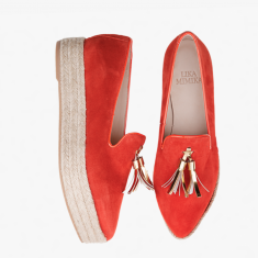 BLOOD ORANGE  Plateau Loafer