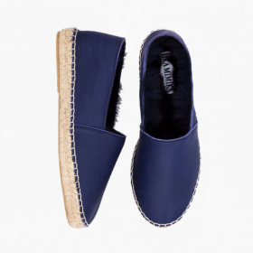 PEN  Rabbit Fur  Espadrilles