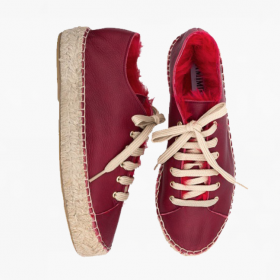 ROSSO  Rabbit Fur  Lace Up