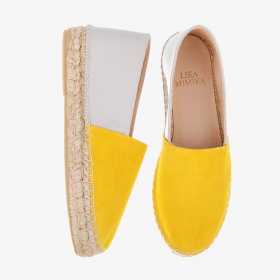 CORN DUST   Multi Leather  Espadrilles