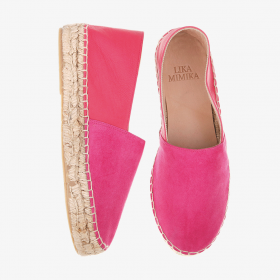 CANDY POP   Multi Leather  Espadrilles