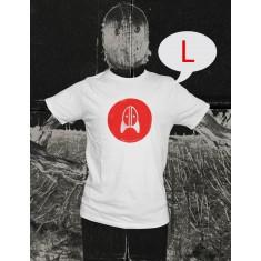 Rocket + Wink Logo Shirt - Weiss (Size: L)