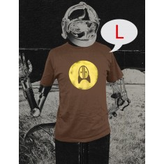 Rocket + Wink Logo Shirt - Braun (Size: L)