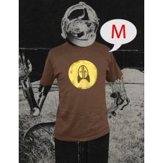 Rocket + Wink Logo Shirt - Braun (Size: M)