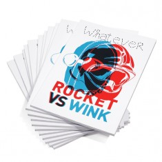 Whatever 7 Rocket vs Wink.