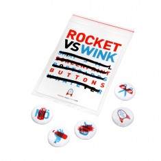 Rocket vs Wink: 5 Buttonset