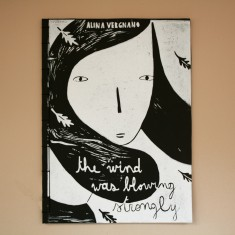 Alina VergnanoTHE WIND WAS BLOWING STRONGLY illustrated book