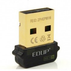 EDUP 2in1 Mini 150Mbps Golden USB WiFi Adapter / AP Access Point