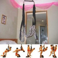 Sex Leopard Swing Chair Alternative Adult Sex Toy