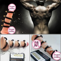 Physiotherapy Electronic Pulse Delay Cock Enlarger Penis Enhancement Length Adjustable Ring